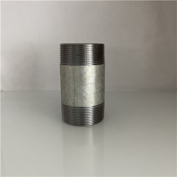 galvanized steel pipe nipple