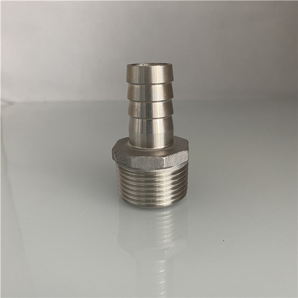 Stainless Steel Fittings Hex Hose Nipple