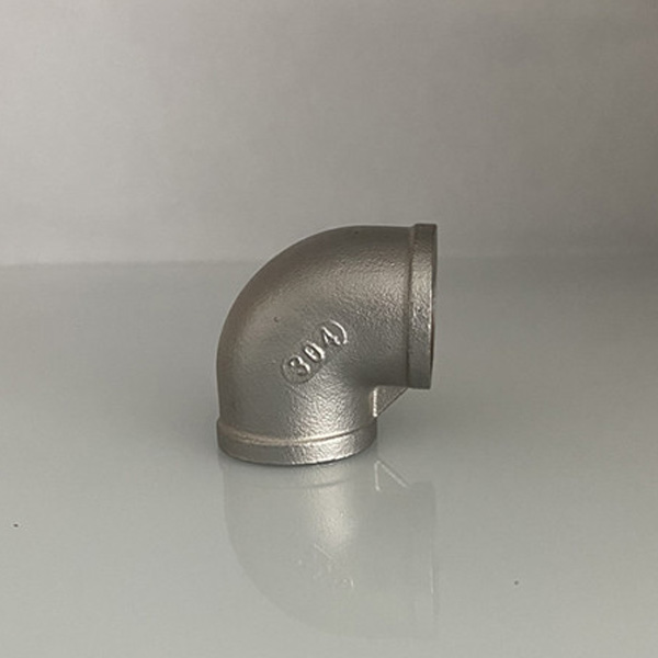 Stainless Steel Pipe Fittings Threaded Elbow